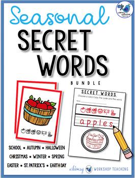 Secret Words: SEASONAL BUNDLE