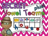 Secret Word Vowel Teams (167 vowel pairs center word building cards)