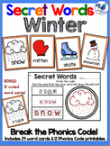 Secret Words Seasonal: Winter (Phonics Codes) Whimsy Works