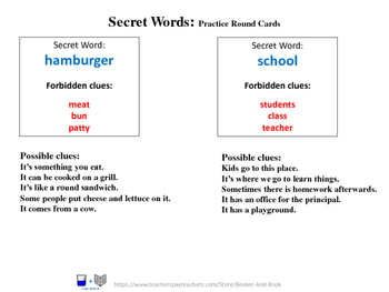 Secret Words for Science: Structure and Function