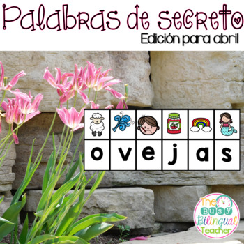 Secret Words in Spanish *April Edition*