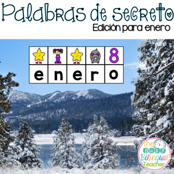 Secret Words in Spanish *January Edition*