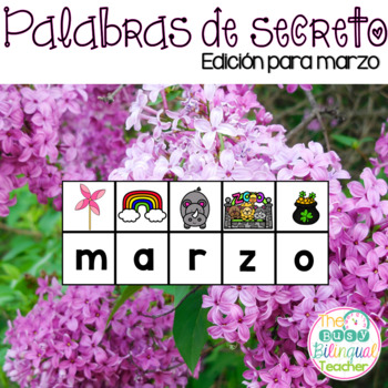 Secret Words in Spanish *March Edition*