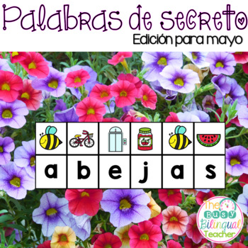 Secret Words in Spanish *May Edition*