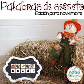 Secret Words in Spanish *November Edition*