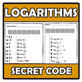Secret code - Código secreto - Logarithms - Logaritmos