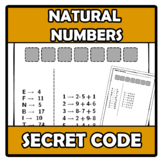 Secret code - Código secreto - Natural numbers