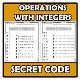 Secret code - Código secreto - Operations with integers -