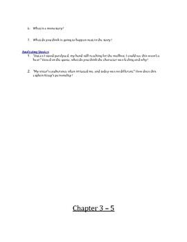 Secret of the Mountain Dog Novel Study