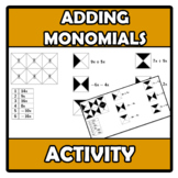 Secret shape - Adding monomials - Suma de monomios