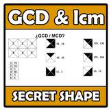Secret shape - GCD & lcm - MCD y mcm