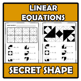 Secret shape - Linear equations - Ecuaciones lineales