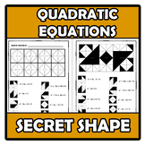 Secret shape - Quadratic equations - Ecuaciones de segundo grado