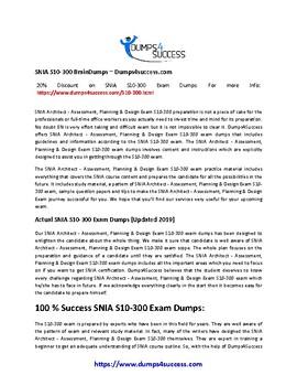Secrets For Passing SNIA S10-300 Exam [2019]