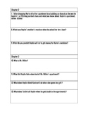 Secrets in the Shadow Comprehension Packet