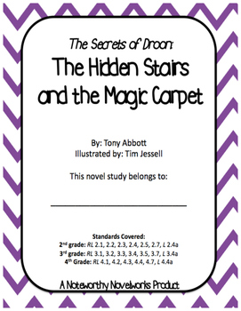 Secrets of Droon #1: The Hidden Stairs and the Magic Carpet Novel Study