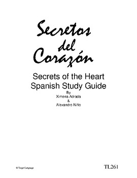 Secrets of the Heart-Spanish Study Guide
