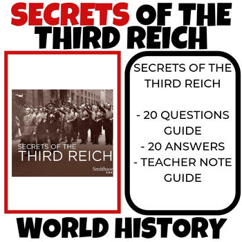 Secrets of the Third Reich Video Guide