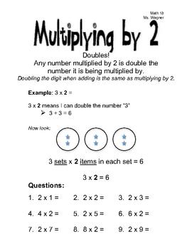 Secrets to Multiplying 0-10