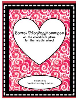 Secret Valentine's Day Messages on the Coordinate Plane