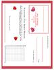 Secrtet Valentine's Day Messages on the Coordinate Plane