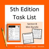 Section B 5th Edition Task List Mini Bundle for ABA and BC
