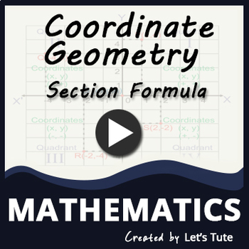 Section Formula | Coordinate geometry