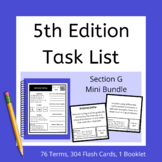 Section G 5th Edition Task List Mini Bundle for ABA and BC
