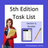Section G Study Booklet - ABA Study Materials - BCBA Exam