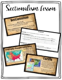 Sectionalism 1800s Activity