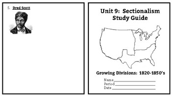 Sectionalism Booklet