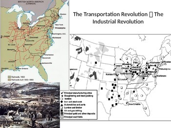 Sectionalism & Civil War: The Industrialized North