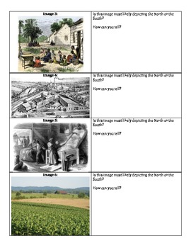 Sectionalism - Differences Between North and South in images
