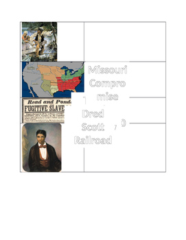 Sectionalism Graphic Organizer