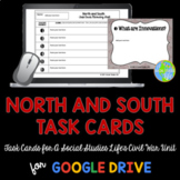 Sectionalism North and South Task Cards and Recording Sheet