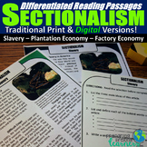 Sectionalism Differentiated Reading Passages