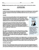 Sectionalism Reading and Graphic Organizer