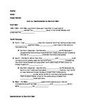 Sectionalism & The Civil War Notes Worksheet