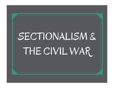 Sectionalism & the Civil War Word Wall