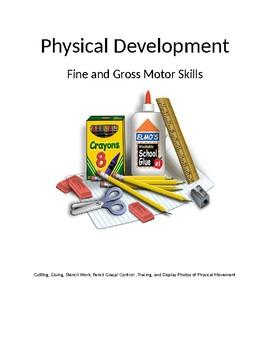 Sections for children's portfolios