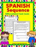 Secuencia de eventos / Sequence SPANISH Task Cards - Digit
