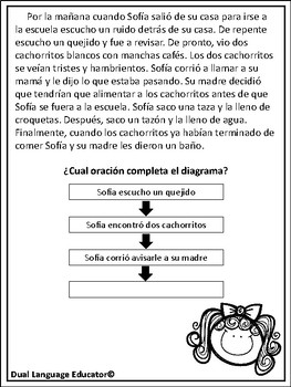 Secuencia/ Sequence Stories in Spanish