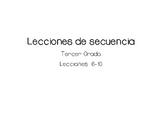 Lecciones de secuencia - Sequence Lessons in Spanish 6-10