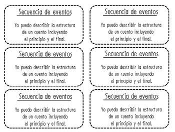 Secuencia de eventos