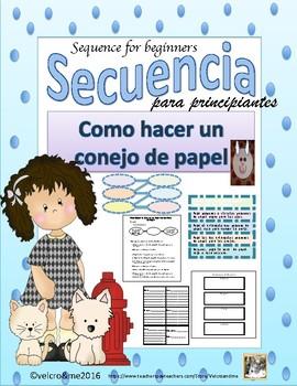 Secuencia - textos de procedimientos - Sequence - Procedural Texts for beginners