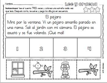 Secuencias con dibujos para los más pequeños - Otoño