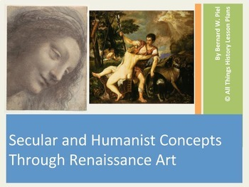 Secular and Humanist Concepts in Renaissance Art