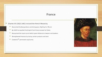 Secularization of Power and Monarchs PowerPoint for AP Euro and AP World
