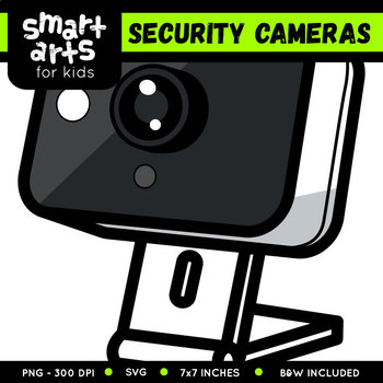 Security Cameras Clip Art