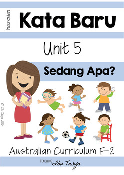 Sedang | Actions| Verbs | Colour & BLM Pack| Bahasa Indonesia